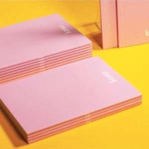 Notebook PinkPearl basic A5 - Kono