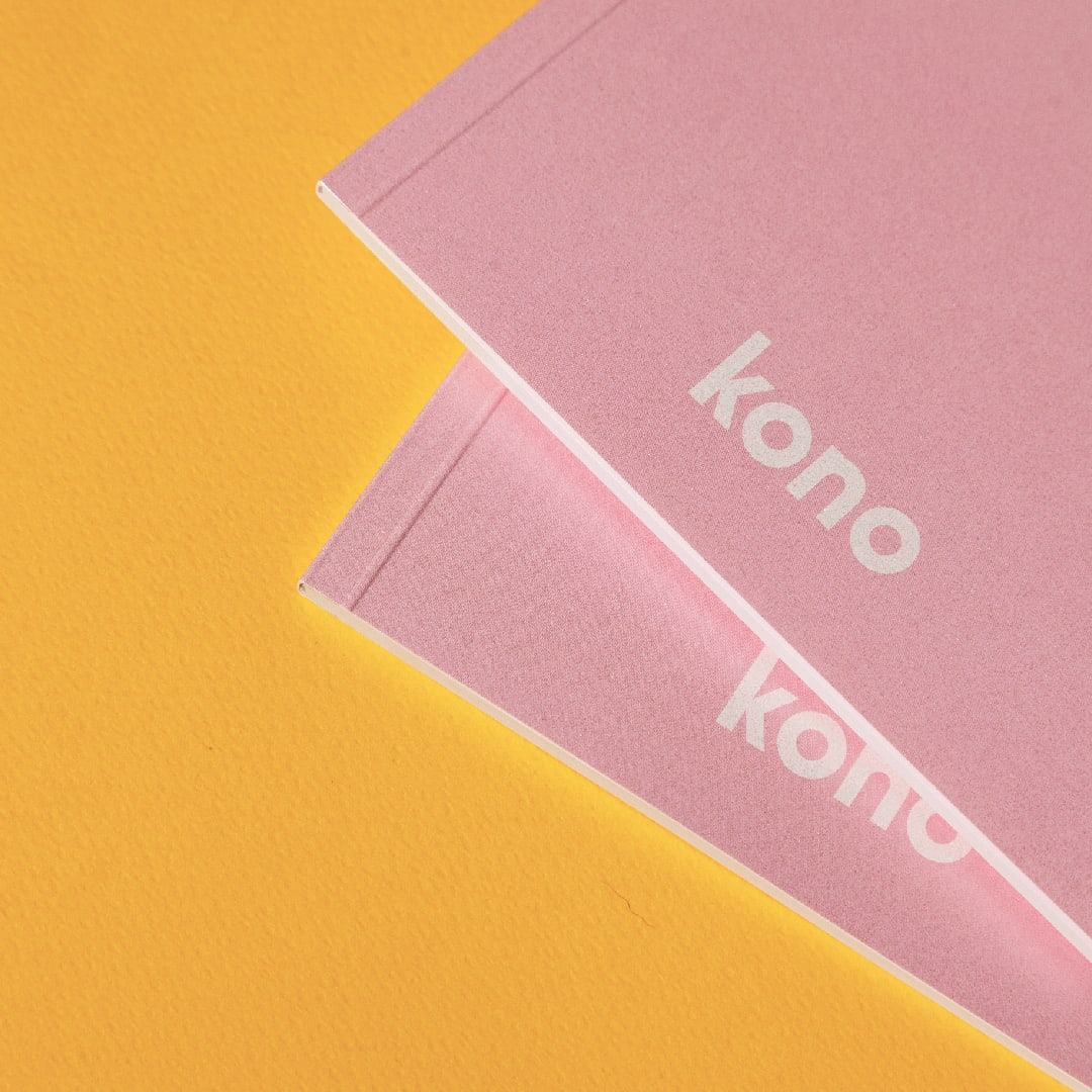 Notebook PinkPearl basic A5 - Kono -4