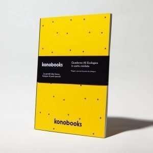 Quaderno da disegno ecologico Konobooks Sketchbook Ecologico A5