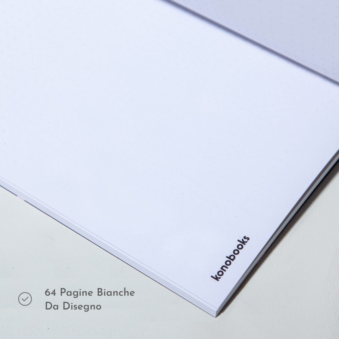 Quaderno da disegno ecologico - Quaderno da disegno in carta riciclata Konobooks