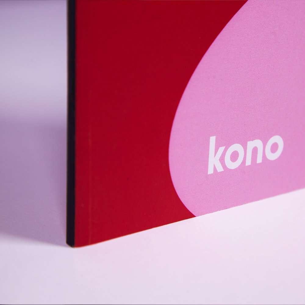 Redwave Notebook A5 - Kono Series - Dettagli