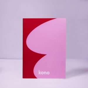 Redwave quaderno A5 - Kono Series