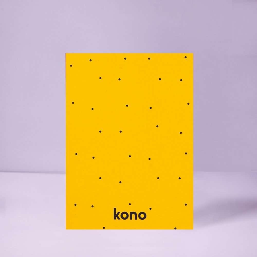 Sketchbook A5 Starship in carta riciclata - Kono Books