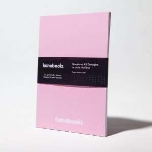Pink Pearl - Quaderno con copertina perlata ecologica fsc - Konobooks