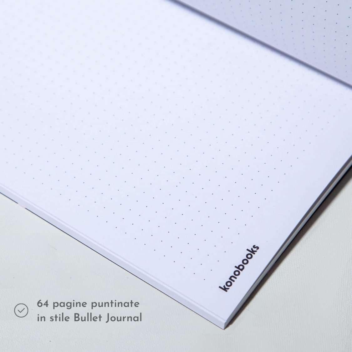 Quaderni puntinati bullet journal - Konobooks