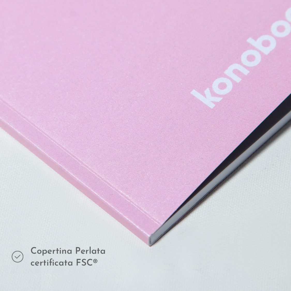 Quaderno in brossura - quaderno copertina perlata Fsc