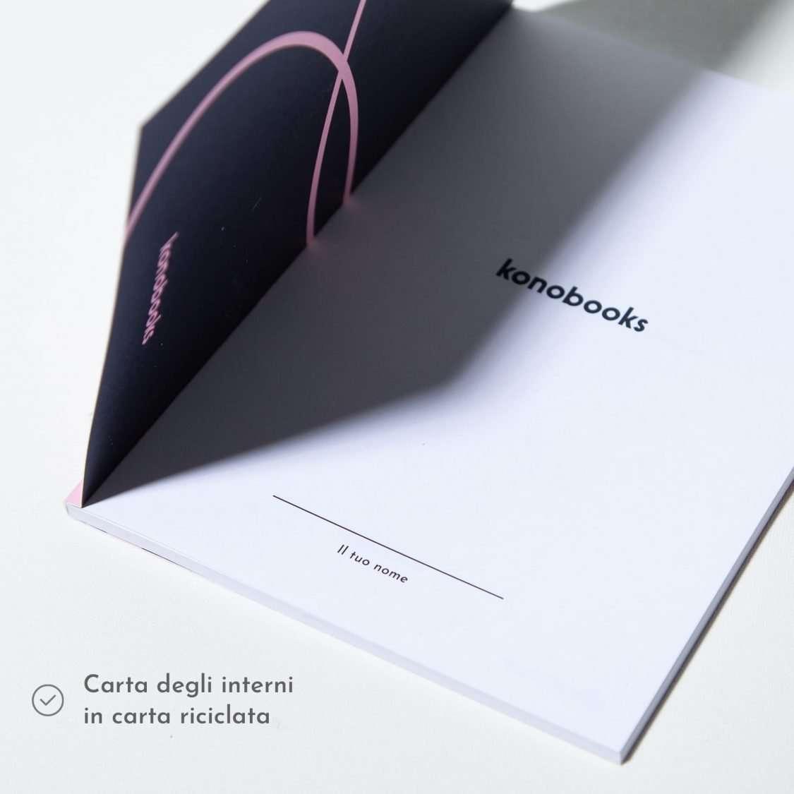 Quaderno in carta riciclata - Quaderni ecologici Konobooks