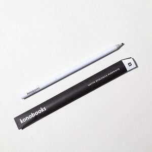 Matita di carta riciclata - PureWhite Konobooks