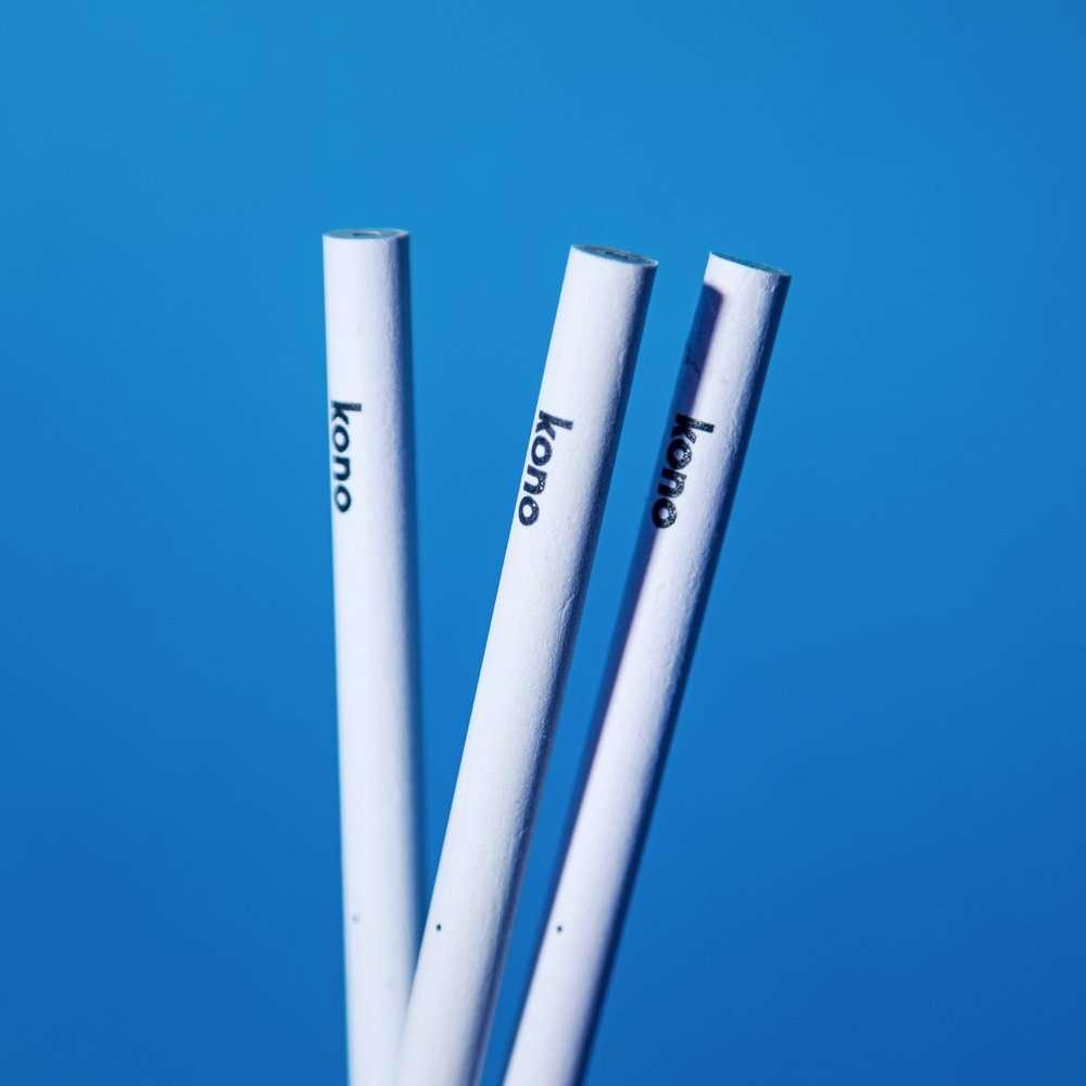 PureWhite Kono- Matita in carta riciclata Kono - Dettagli