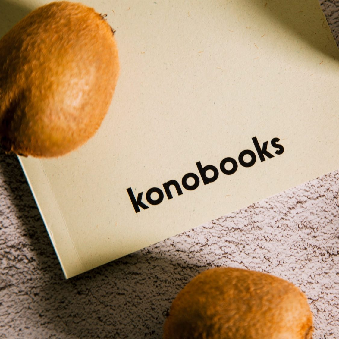 Taccuino A5 ecologico in carta Kiwi certificata FSC - Konobooks