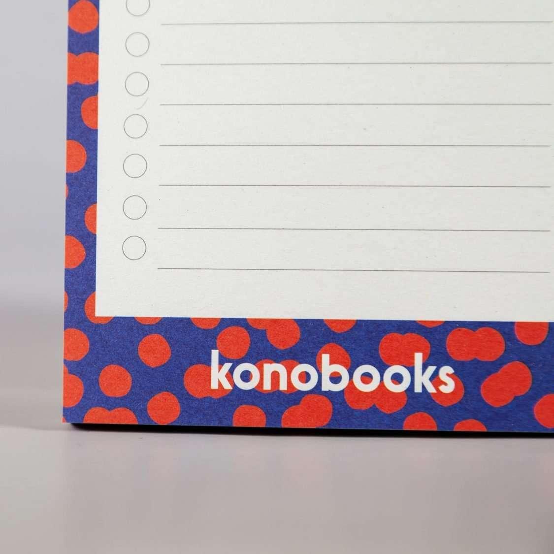 Blocco Note Ecologico in carta riciclata - Konobooks