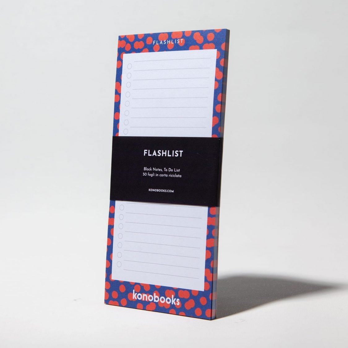 Flashlist - Block Notes To Do List Ecologico in carta riciclata- Konobooks