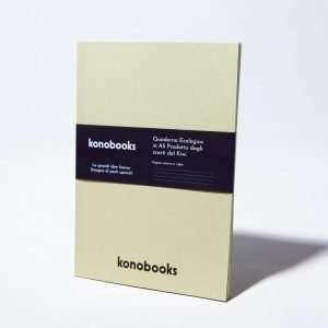 Quaderno Ecologico in Carta Kiwi - Quaderno in carta di riciclo Konobooksù