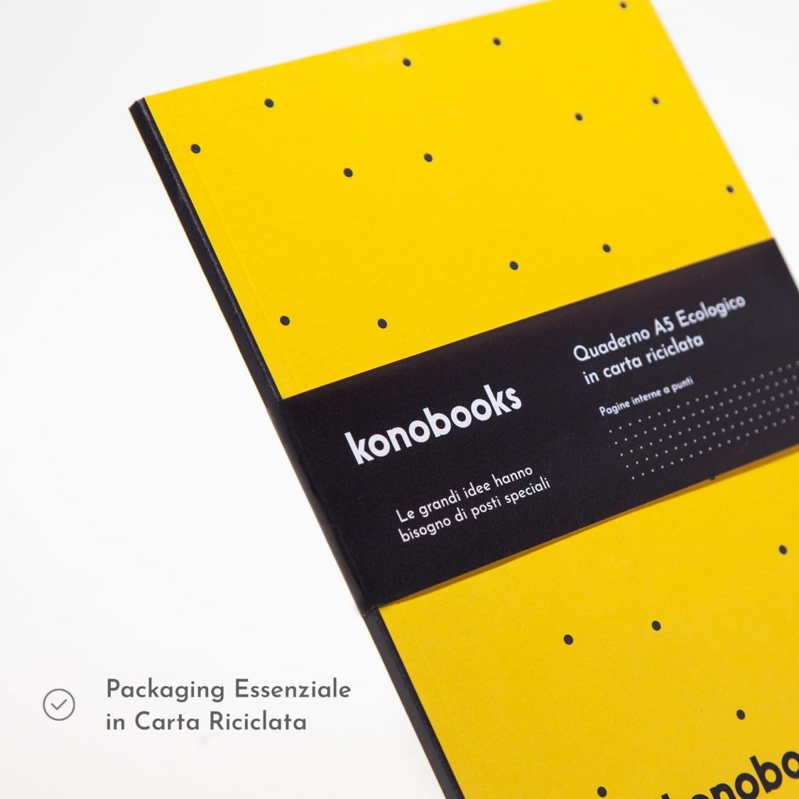 Quaderno ecologico puntinato Konobooks