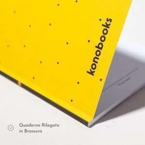 Quaderno ecologico rilegato in brossura
